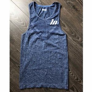 Muscle Nation Men's Ghost Seamless Tank